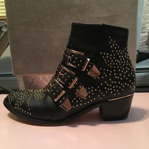 Chloe Susanna-Style Boots, Size 9 (39)